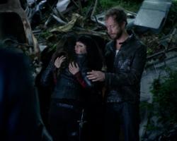 Bo and Kenzi hug in The Kenzi Scale