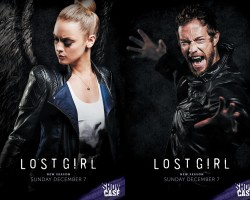 Dyson and Tamsin Season 5 posters